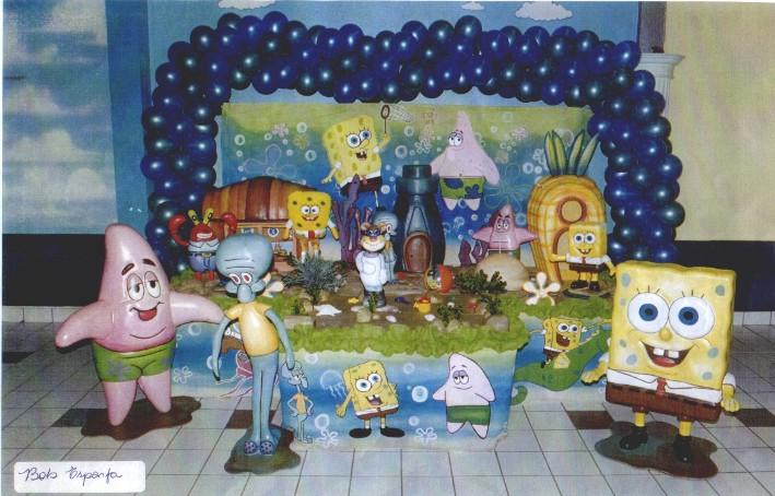 Festa Bob Esponja - Tudo em Decoração Festa Bob Esponja